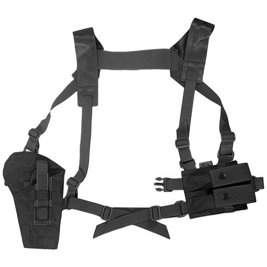 Flyye Shoulder Holster System Panel MOLLE Black