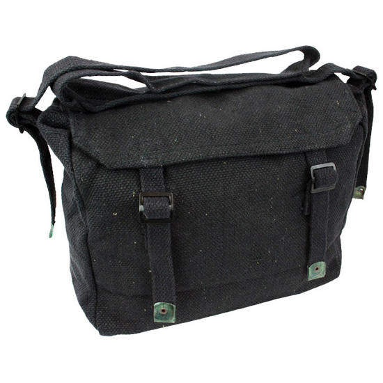 Highlander Webbing Haversack Black