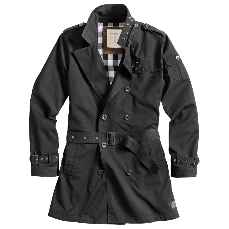 Surplus Classic Army Trenchcoat Military Style Mens Jacket Water ...