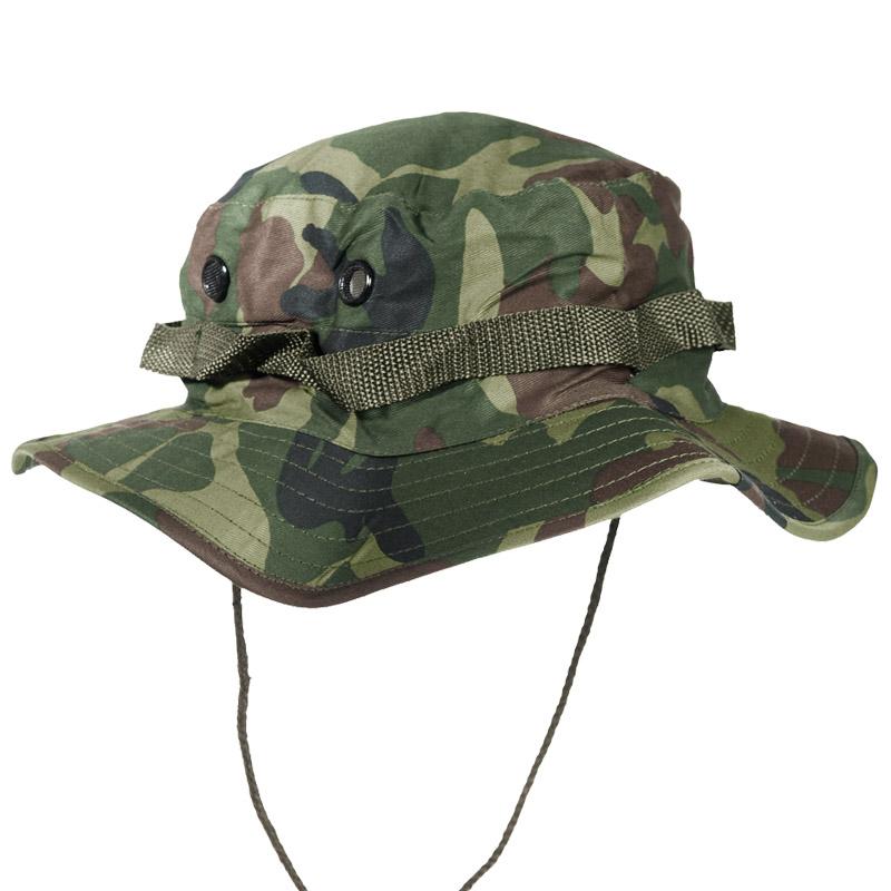 ... ARMY TACTICAL JUNGLE BOONIE BUSH HAT BUSHCRAFT HIKING TRAVEL WOODLAND  CAMO S-XXL eBay incredible ... eb132de8454