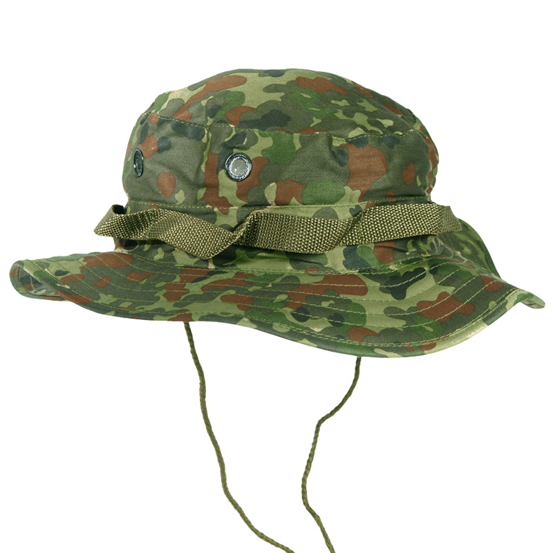 Army tactical boonie bush jungle hat cap fishing hiking bw for Fishing boonie hat