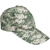 Mil-Tec Baseball Cap with Metal Buckle Ripstop ACU Digital