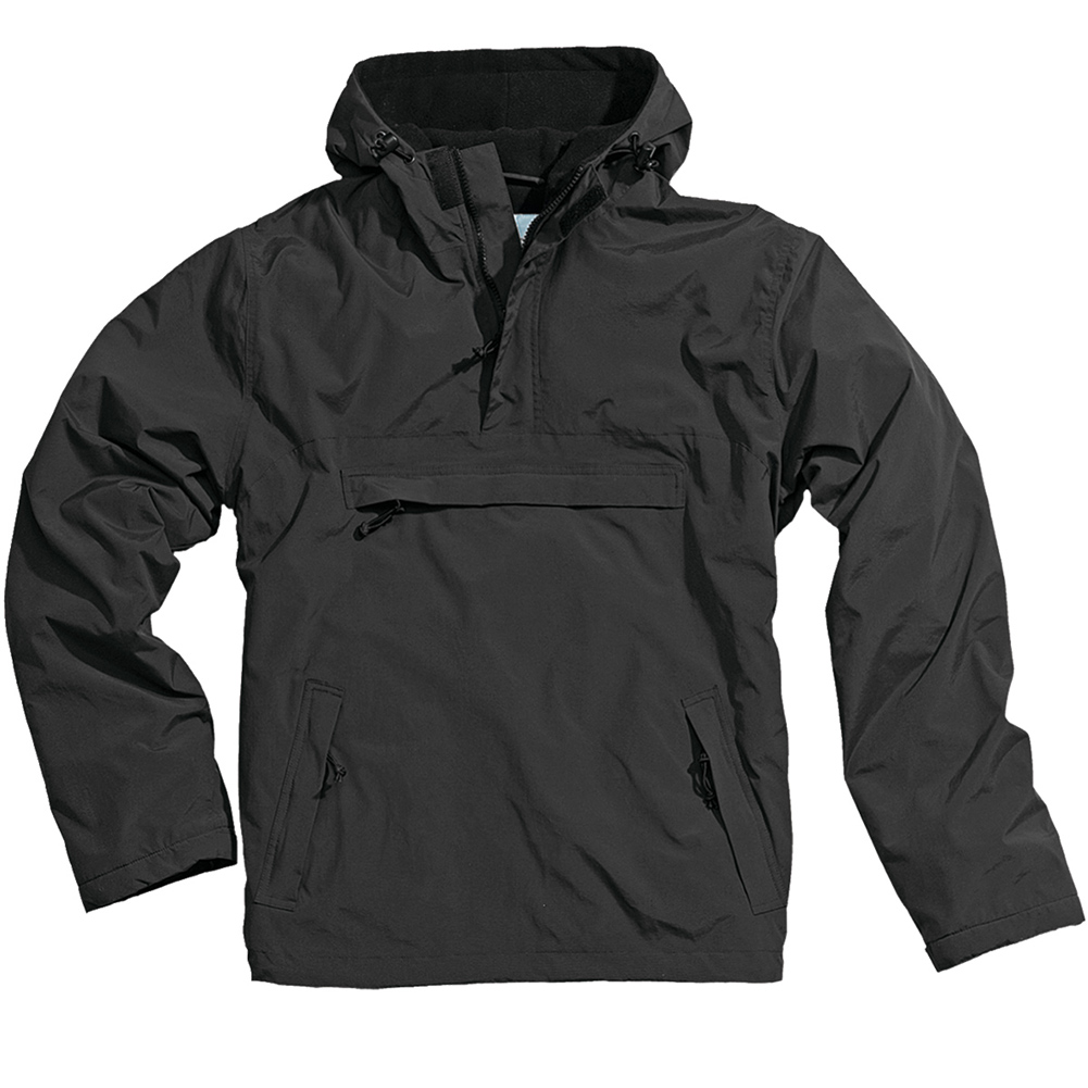 Surplus Windbreaker Mens Wind Rain Hooded Jacket Warm Fleece