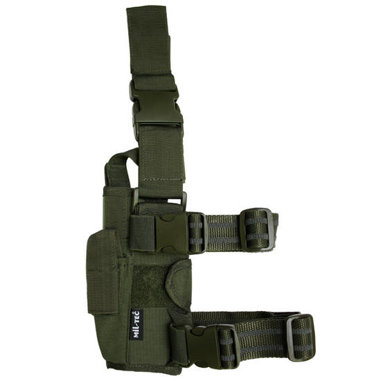 Mil-Tec Adjustable Leg Holster Cordura Olive