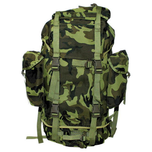 MFH German Army Rucksack 65L Czech Woodland