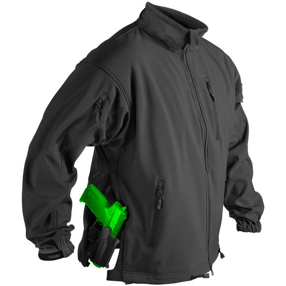 Helikon Jackal Soft Shell Jacket Black