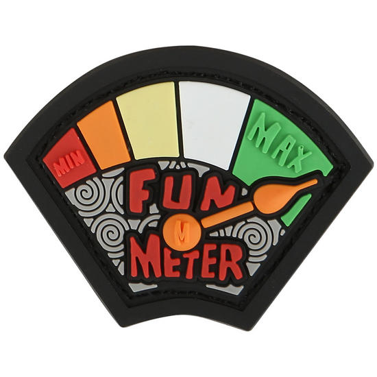 Maxpedition Fun Meter (Full Colour) Morale Patch
