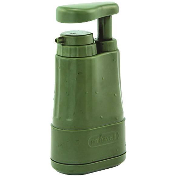 Highlander Miniwell Outdoor Water Filter Olive