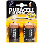 Duracell Plus Power D Cell 2 Pack