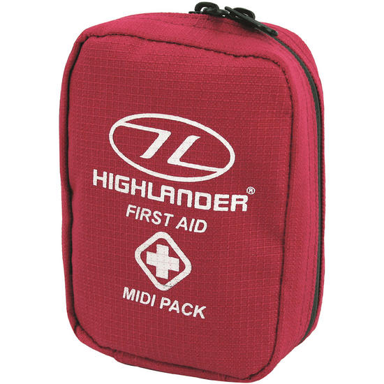 Highlander First Aid Midi Pack Red