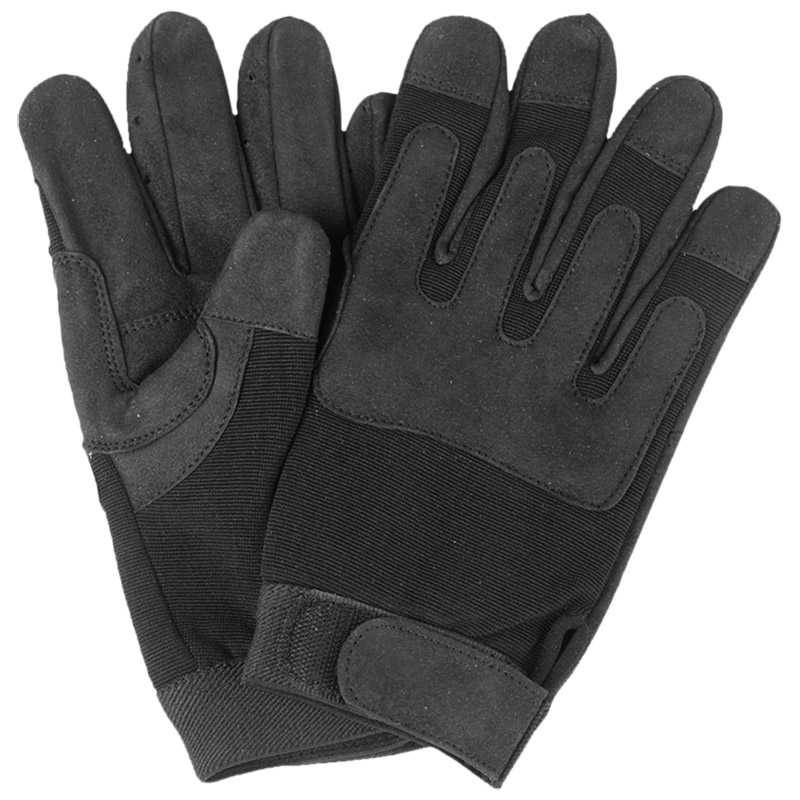 TACTICAL ARMY GLOVES CLARINO AIRSOFT SHOOTING SECURITY POLICE FORCES BLACK S-XXL