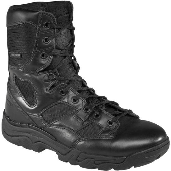 "5.11 Waterproof Taclite 8"" Boots Black"