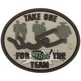 Maxpedition Take One for the Team (Arid) Morale Patch