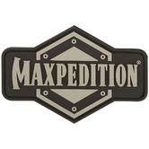 Maxpedition Full Logo (Arid) Morale Patch