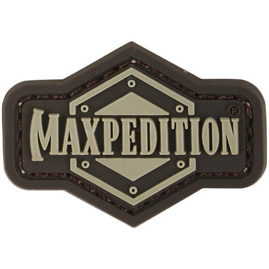 Maxpedition 1 Inch Logo (Arid) Morale Patch