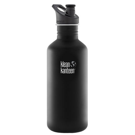 Klean Kanteen Classic 1182ml Bottle with Sport Cap Shale Black