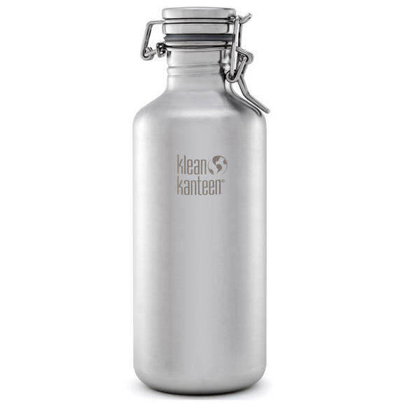 Klean Kanteen Growler 1182ml with Swing Lok Cap Brushed Stainless