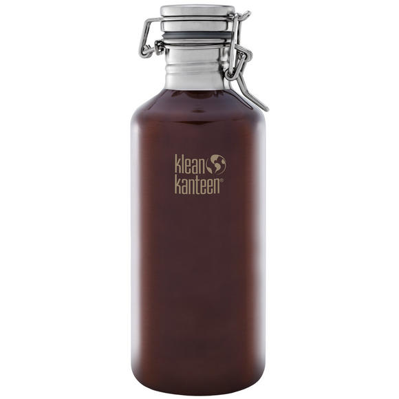 Klean Kanteen Growler 1182ml with Swing Lok Cap Dark Amber