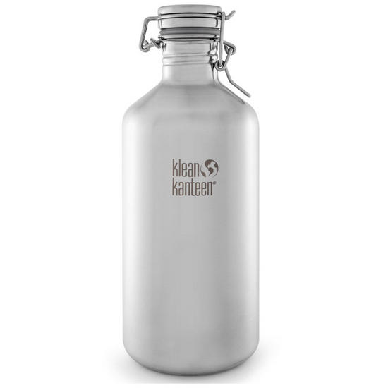 Klean Kanteen Growler 1900ml with Swing Lok Cap Brushed Stainless