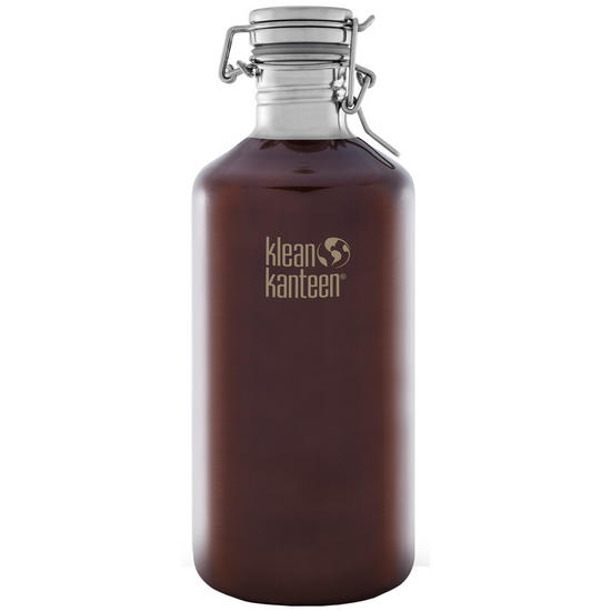 Klean Kanteen Growler 1900ml with Swing Lok Cap Dark Amber