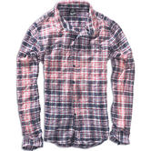 Brandit Parkland Wire Check Shirt Red / Blue