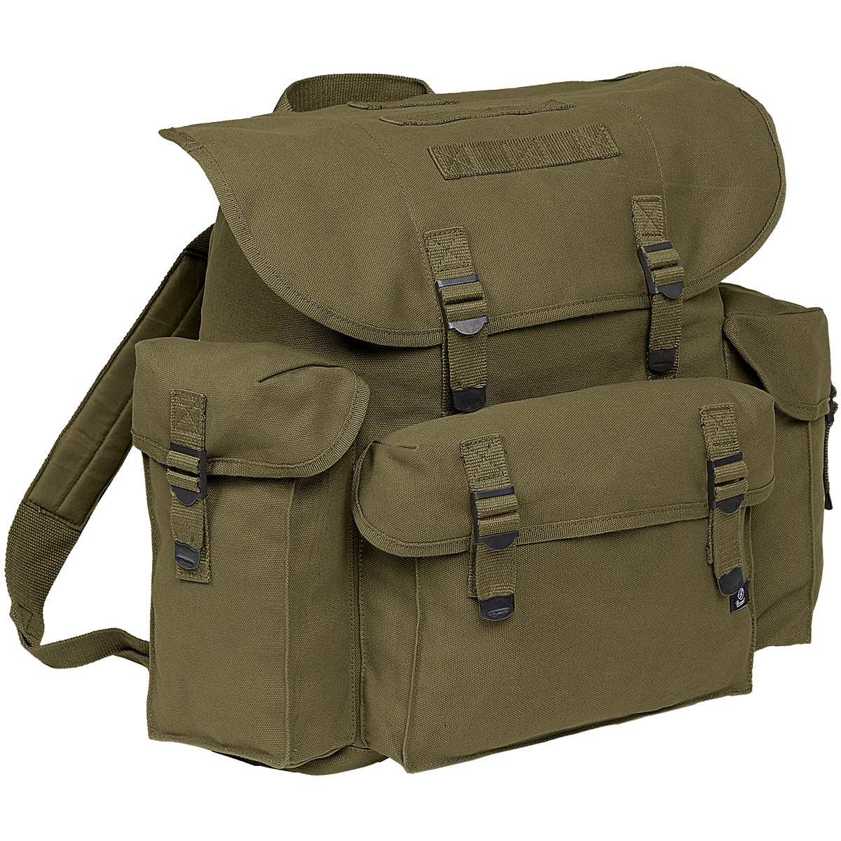 BRANDIT CLASSIC VINTAGE BW GERMAN ARMY BACKPACK MILITARY CANVAS ...