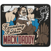 Maxpedition Ben Franklin Mack (Full Colour) Morale Patch