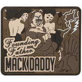 Maxpedition Ben Franklin Mack (Arid) Morale Patch