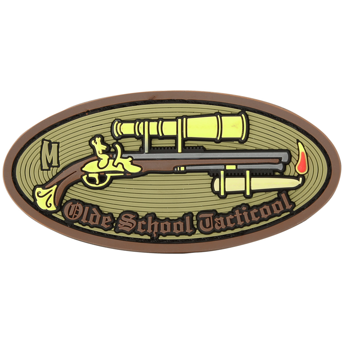 Maxpedition Olde School Tacticool Arid Morale Patch
