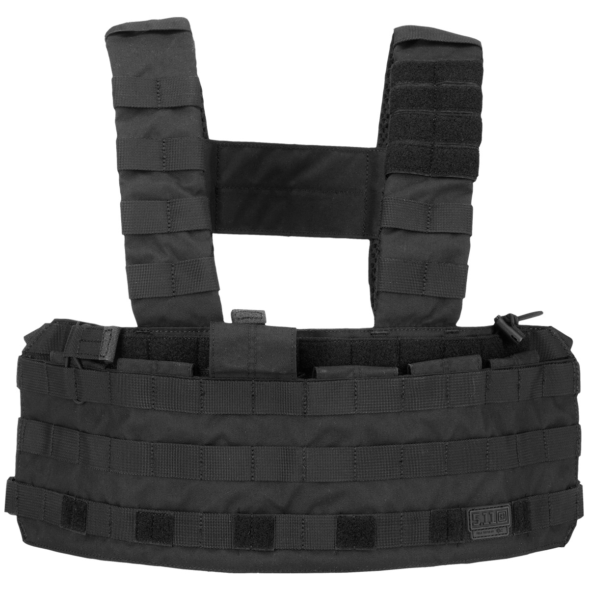 5.11 ARMY COMBAT TACTEC CHEST RIG MOLLE SYSTEM MAG CARRIER AIRSOFT WEBBING BLACK