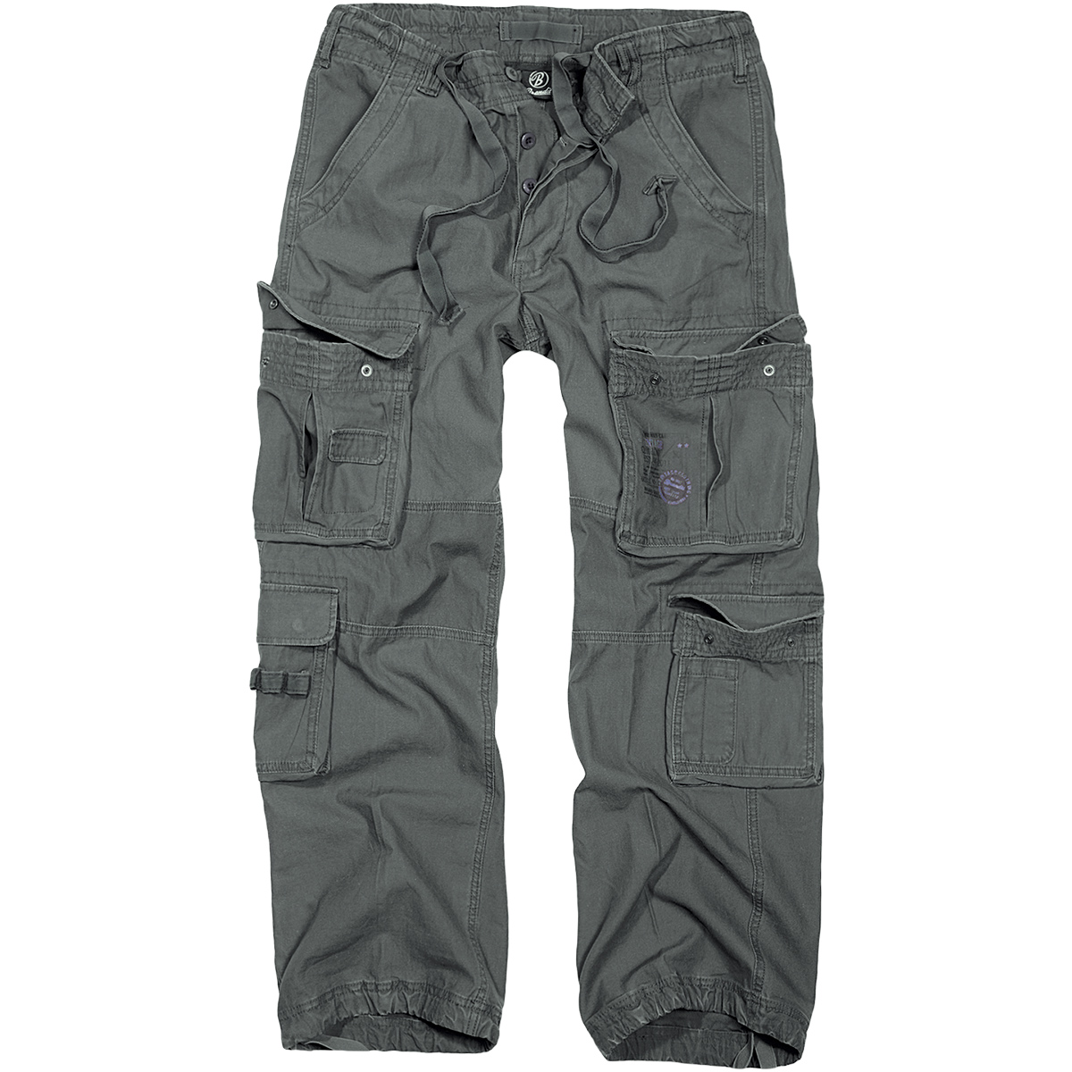 Brandit Pure Vintage Mens Trousers Motorcycle Travel Cargo Pants ...