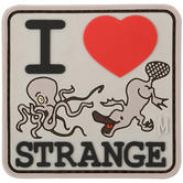 Maxpedition I Heart Strange (Arid) Morale Patch