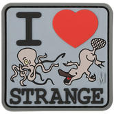 Maxpedition I Heart Strange (SWAT) Morale Patch