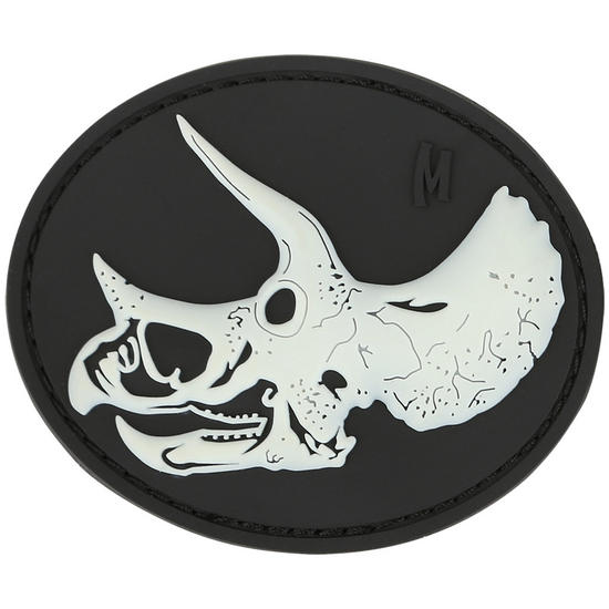 Maxpedition Triceratops Skull (Glow) Morale Patch