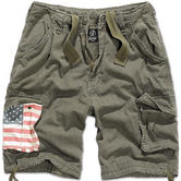 Brandit Urban Legend Stars & Stripes Shorts Olive