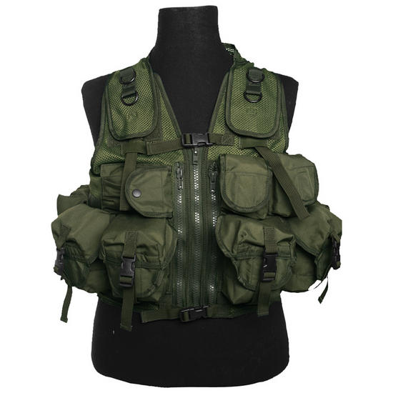 Mil-Tec Ultimate Assault Vest Olive