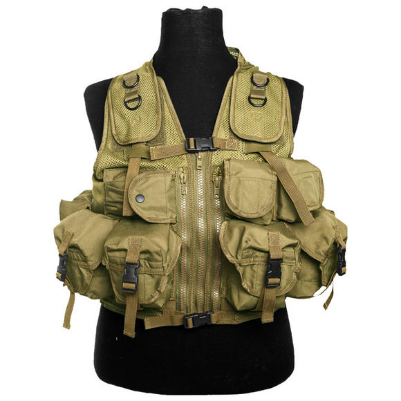 Mil-Tec Ultimate Assault Vest Coyote