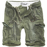 Brandit Shell Valley Heavy Vintage Shorts Olive