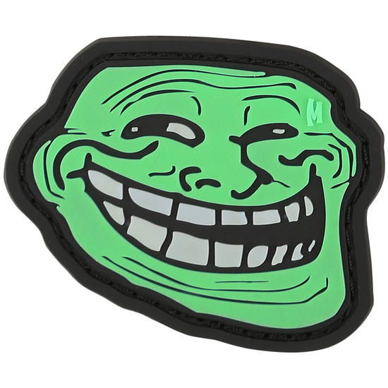 Maxpedition Troll Face (Glow) Morale Patch