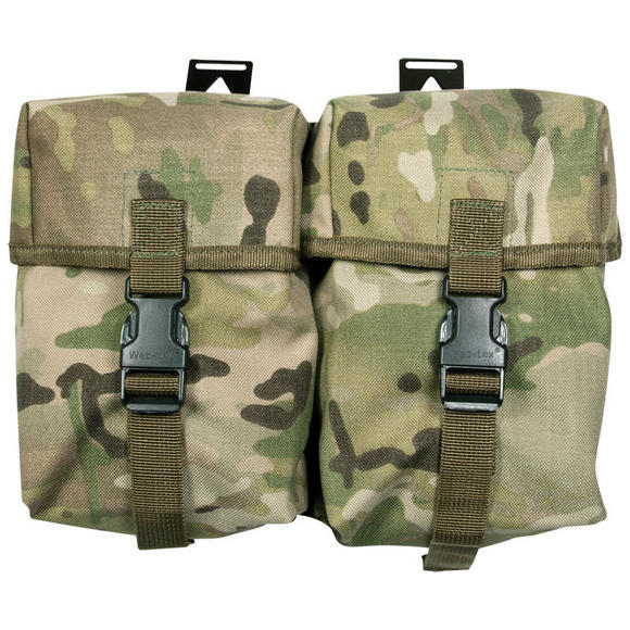 Web-Tex Double Utility Pouch MultiCam
