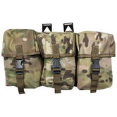 Web-Tex Treble Utility Pouch MultiCam