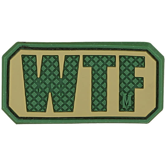 Maxpedition WTF (Arid) Morale Patch