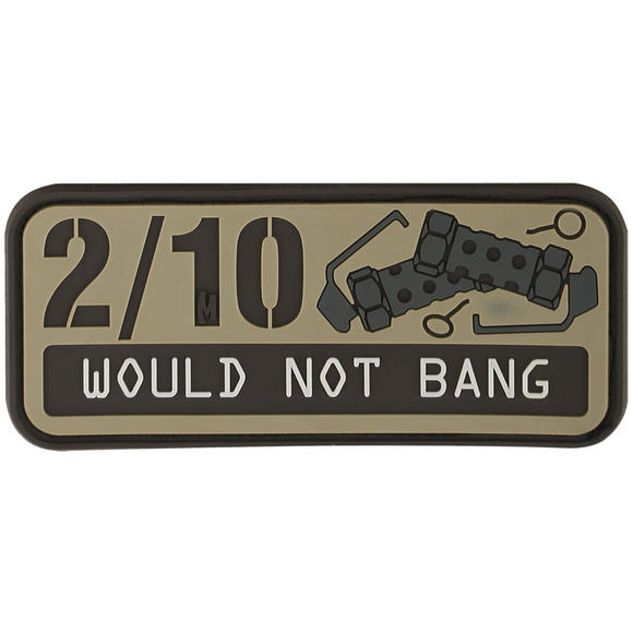 Maxpedition 2/10 Would Not Bang (Arid) Morale Patch