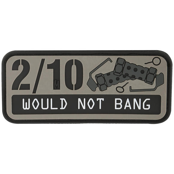 Maxpedition 2/10 Would Not Bang (SWAT) Morale Patch