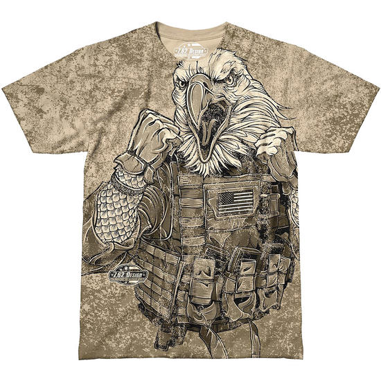 7.62 Design Avenge Our Fallen T-Shirt Sand