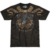 7.62 Design Knights Of The Black Rifle T-Shirt Black