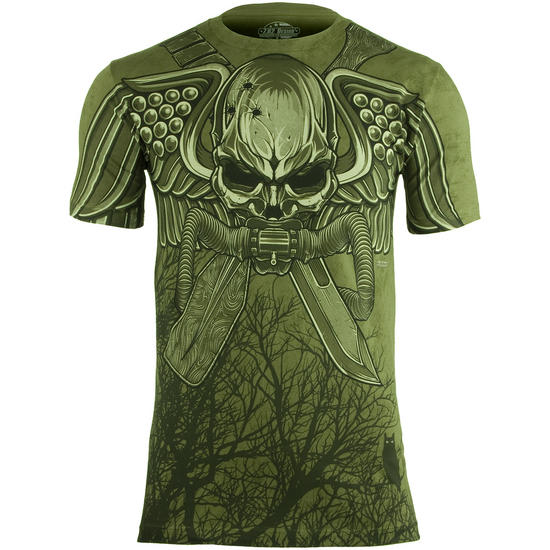 7.62 Design USMC Recon Swift Silent Deadly T-Shirt Military Green