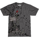 7.62 Design Fallen But Not Forgotten T-Shirt Charcoal