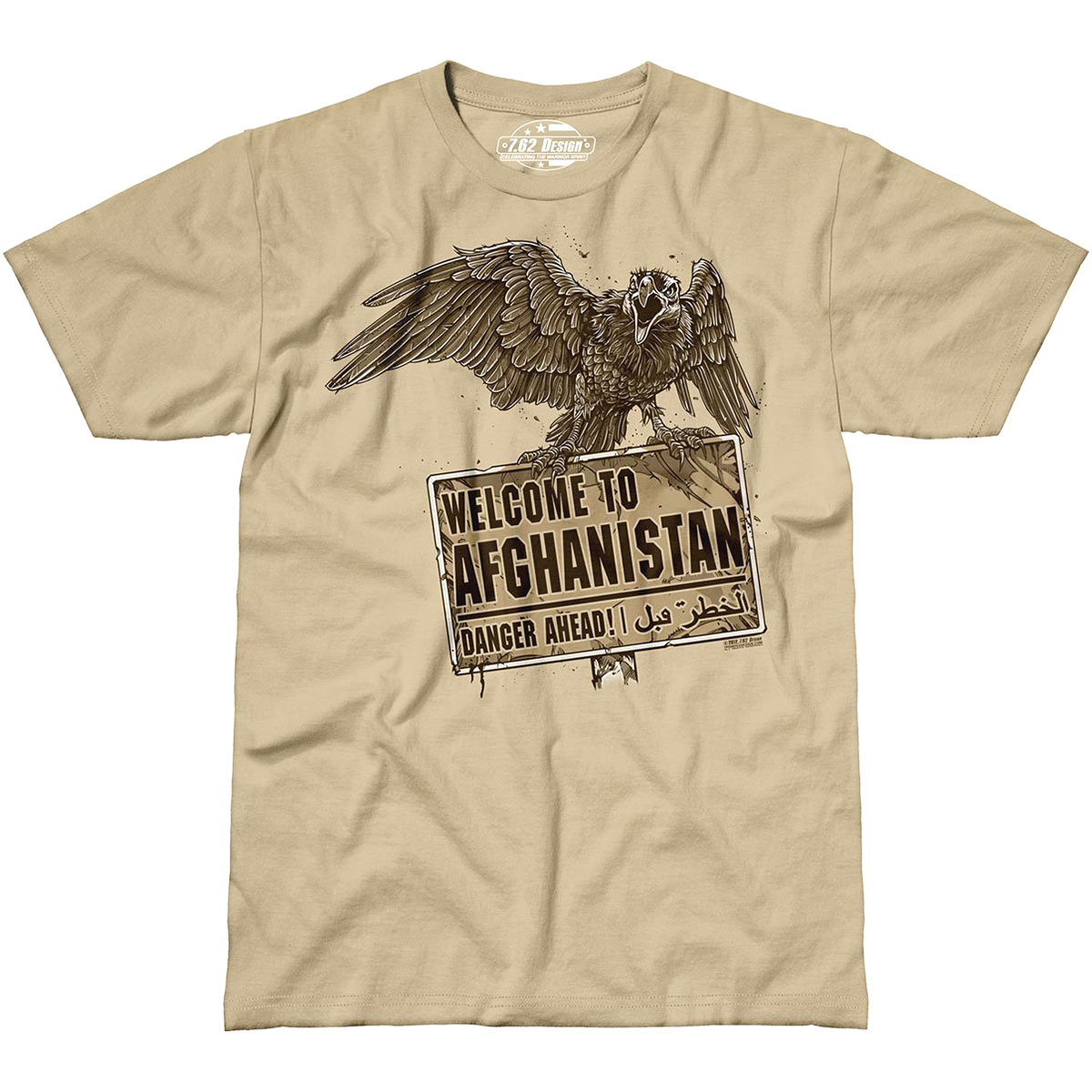Design Welcome To Afghanistan T Shirt Mens Military