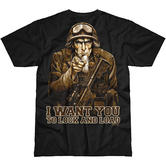 7.62 Design Sam The Grunt T-Shirt Black